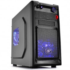 Carcasa Deepcool Smarter LED fara sursa Black - Carcasa PC Deepcool, Mini tower
