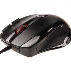 Mouse Natec optic Gaming Natec Genesis laser GX68 NMG-0500, USB, 3400 DPI, DPI switch, negru