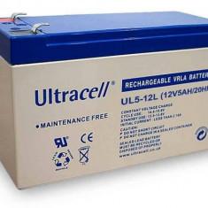 ULTRACELL Acumulator UPS ULTRACELL UL12V5AH, 12V 5Ah