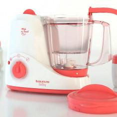 Robot de bucatarie Taurus Baby Mini Food, 1.2 l, 520 W, cu functie de gatit la aburi - Robot Bucatarie
