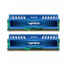 Memorie Patriot Viper 3 Sapphire Blue, 2x8 GB DDR3, 1600 MHz, CL 9, dual channel, albastru - Memorie RAM laptop