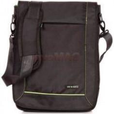 Lamonza LAMONZA Geanta de umar laptop CREST A13020, 36x28x12 cm, negru - Geanta laptop