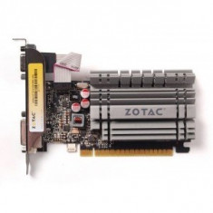 Placa video Zotac ZOTAC GeForce GT 730 Zone Edition Low Profile, 4GB DDR3 (64 Bit), HDMI, DVI, VGA - Placa video PC
