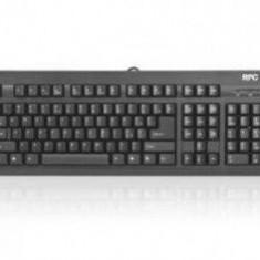 Tastatura RPC standard PHKB-P615US-AC02A, PS/2, neagra