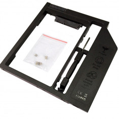 9.5mmSata-Sata  2nd HDD, caddy SSD / HDD, adaptor rack SSD/HDD plastic
