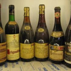 6 sticle vin vechi, ( LOT: Nr. 3) recoltare 1975/76/77/78/79/80 - Vinde Colectie, Aroma: Sec, Sortiment: Rosu, Zona: Europa