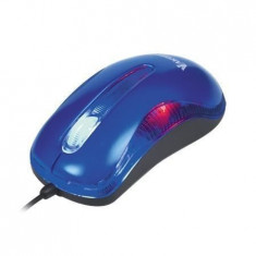 Mouse VKO TM-420UB, optic, USB, 1200 dpi, albastru