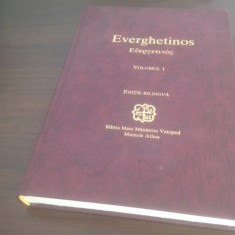 EVERGHETINOS, VOL.1, SF. MARE MAN. VATOPED, ATHOS. EDITIE BILINGVA