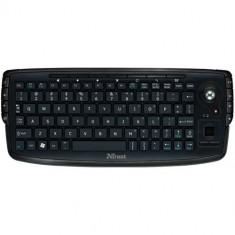 Tastatura Trust Compact Wireless Entertainment, Wireless, Neagra
