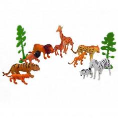 Set animale salbatice - Mama si puiul - Figurina Animale