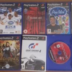 LOT Nr 2 - 10 Jocuri PS2 - Citeste descrierea !, Actiune, 3+, Multiplayer