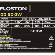 Sursa Floston FL500, ATX, 500W - Sursa PC