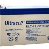 ULTRACELL Acumulator UPS ULTRACELL UL12V7AH, 12V 7Ah