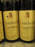 6 sticle vin vechi, de collection( LOT: Nr. 6 ) recoltare 1966, Sec, Rosu, Europa