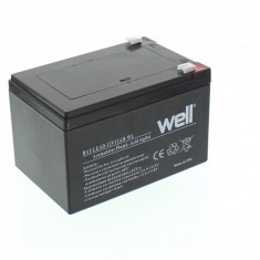 WELL Acumulator plumb acid 12V 12AH, Well - UPS