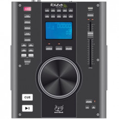 Consola DJ Ibiza CD/USB PLAYER SCRATCH - Console DJ