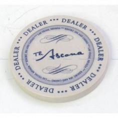 Jetoane dealer, ceramice, Ascona