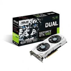 Placa video Asus DUAL-GTX1060-6G, 6 GB GDDR5, 192-bit - Placa video PC