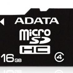 Card memorie A-Data MicroSDHC 16GB, Class 4 - Multimedia card