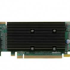 Placa video Matrox M9140, 512MB GDDR2, 4xDVI, PCI-Express x16, low profile - Placa video PC