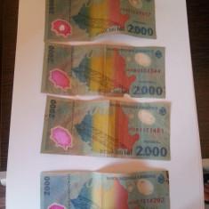 Bacnote 2000 lei cu eclipsa - Bancnota romaneasca