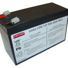 LESTAR acumulator UPS LAWu 12V 9Ah AGM VRLA