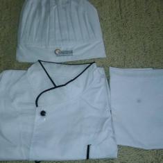Vand uniforma de bucatar, Marime: M, Culoare: Alb