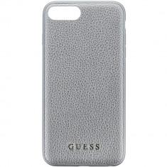Husa Protectie Spate Guess GUHCP7LIGLSI Iridescent Piele Argintiu pentru Apple iPhone 7 Plus - Husa Telefon
