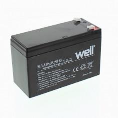 WELL Acumulator plumb acid 12V 9AH, Well - UPS