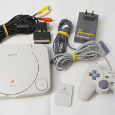 Consola jocuri SONY Playstation 1 One PS 1 One + accesorii originale
