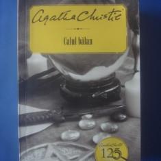 AGATHA CHRISTIE - CALUL BĂLAN - Carte politiste, Litera