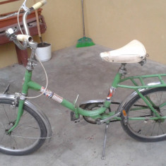 Bicicleta Pegas - Bicicleta retro, 20 inch, 16 inch, Numar viteze: 1