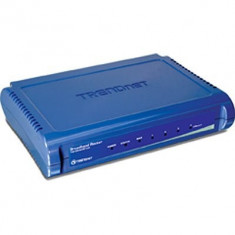 Router Trendnet TW100-S4W1CA - Broadband 10/100 Mbps DSL/CABLE, 4 port switch - Router wireless