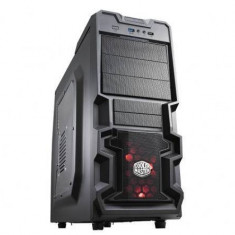 Carcasa Cooler Master PC case Cooler Master K380 RC-K380-KWN1, USB 3.0, windowed side panel, negru - Carcasa PC