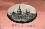 Album 24 mini vederi alb/negru din Budapesta