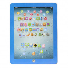 Tableta educativa copii Toy-Pad - Jocuri Litere si Cifre, 12-24 luni, Baiat