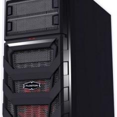 Carcasa Floston Genesis, Mid Tower Atx, Fara sursa, neagra - Carcasa PC