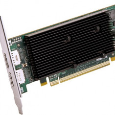 Placa video Matrox M9128, 1GB GDDR2, 2xDisplayPort, PCI-Express x16 low profile - Placa video PC