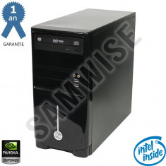 Calculator Intel G620 2.6GHz 4GB DDR3 GF9400GT 512MB/128-Bit DVI 320GB DVD-RW