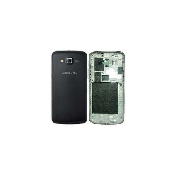 Carcasa Completa Samsung Galaxy Grand 2 G7102 Neagra foto mare