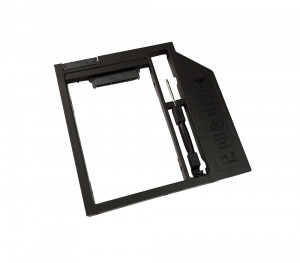12.7mmSata-Sata  2nd HDD, caddy SSD / HDD, adaptor rack SSD/HDD plastic