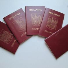 Pentru colectionari: Pasaport Romania. Lot de 5 pasapoarte expirate, anulate. - Pasaport/Document, Romania de la 1950