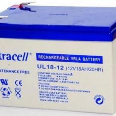 ULTRACELL Acumulator UPS ULTRACELL UL12V18AH, 12V 18Ah
