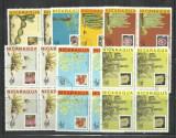 NICARAGUA - LOT 4 SERII FLORA CACTUSI, STAMPILATE (A4)