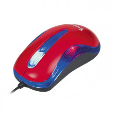 Mouse VKO, TM-420UR, optic, USB, 1200 dpi, rosu