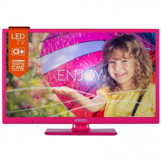 Televizor LED Horizon 24HL712H, 24inch, 1366 x 768 px, UltraSlim, roz