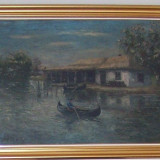 Pictura,GH.SARBU-Cherhana,ulei/c,80x100cm