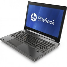 Laptop HP EliteBook 8560w, Intel Core i7 Gen 2 2670QM 2.2 GHz, 16 GB DDR3, 500 GB HDD SATA, CADDY HDD, AMD FirePro M5950, WI-FI, Bluetooth, Webcam,