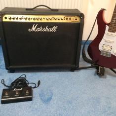 Chitara electrica yamaha pacifica + amp. Marshall valvestate vs265