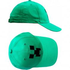 Sapca Minecraft ORIGINAL Green - Sapca Copii